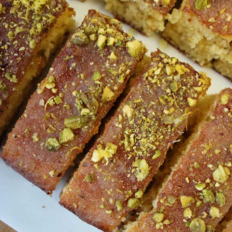 gluten free lemon and pistachio drizzle cake 35