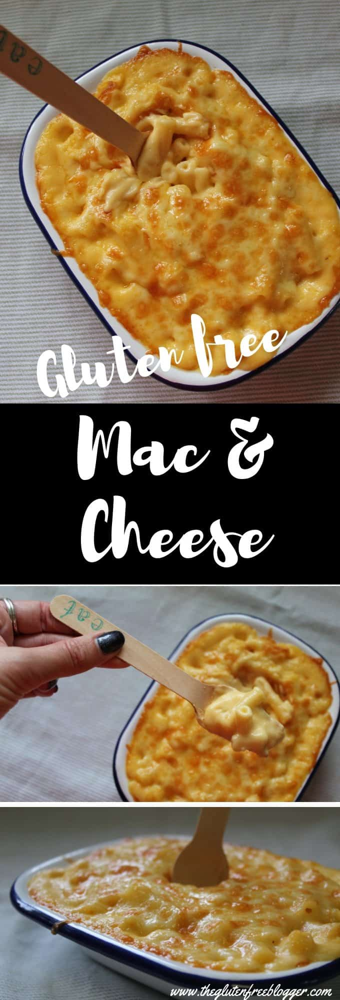 Gluten free mac and cheese - gluten free dinner - recipe ideas