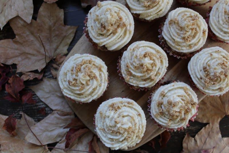 gluten free apple crumble cupcakes recipe