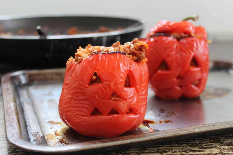 gluten free stuffed pepper jack o'lanterns 12
