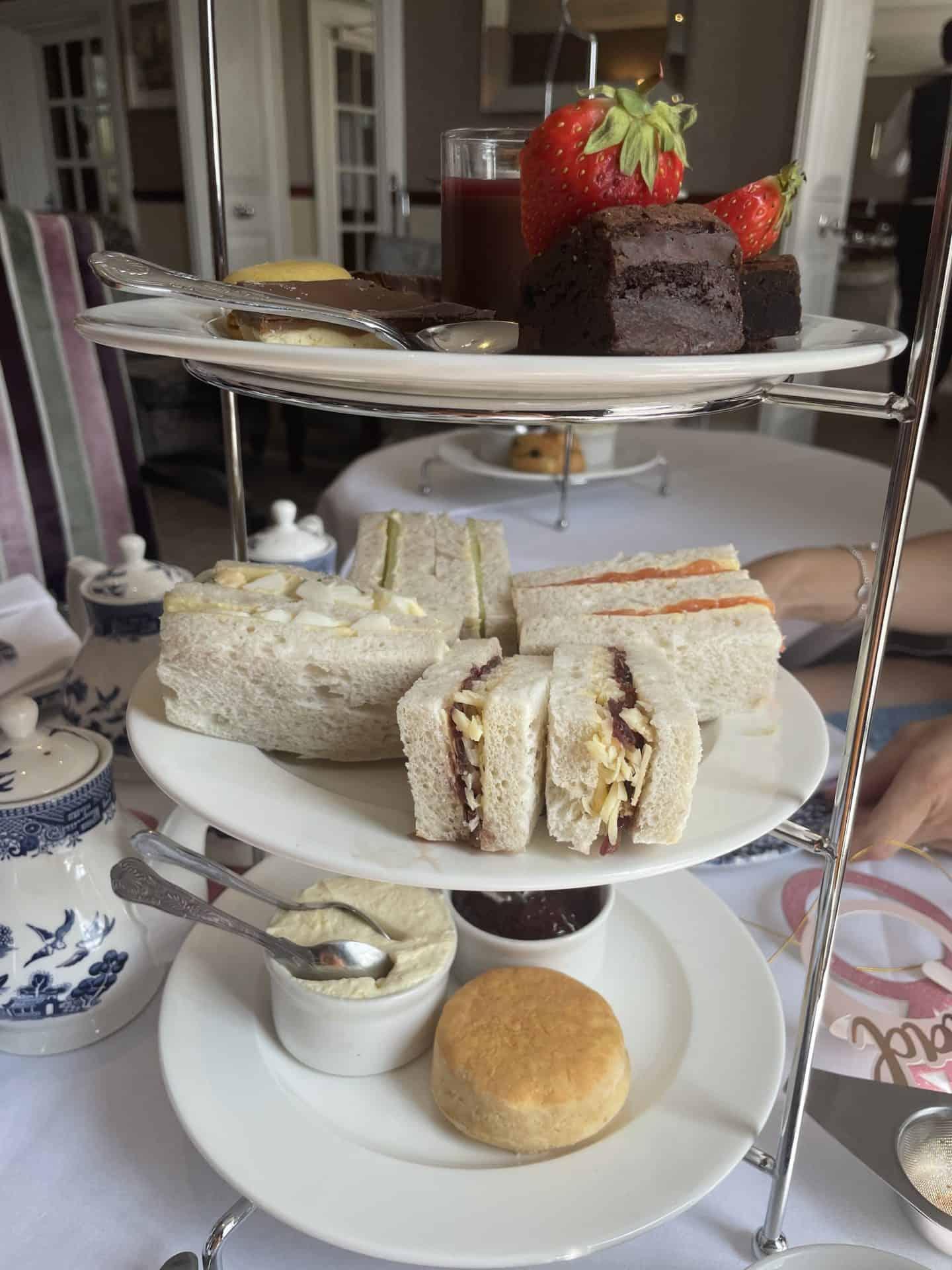 gluten free afternoon tea imperial hotel barnstaple