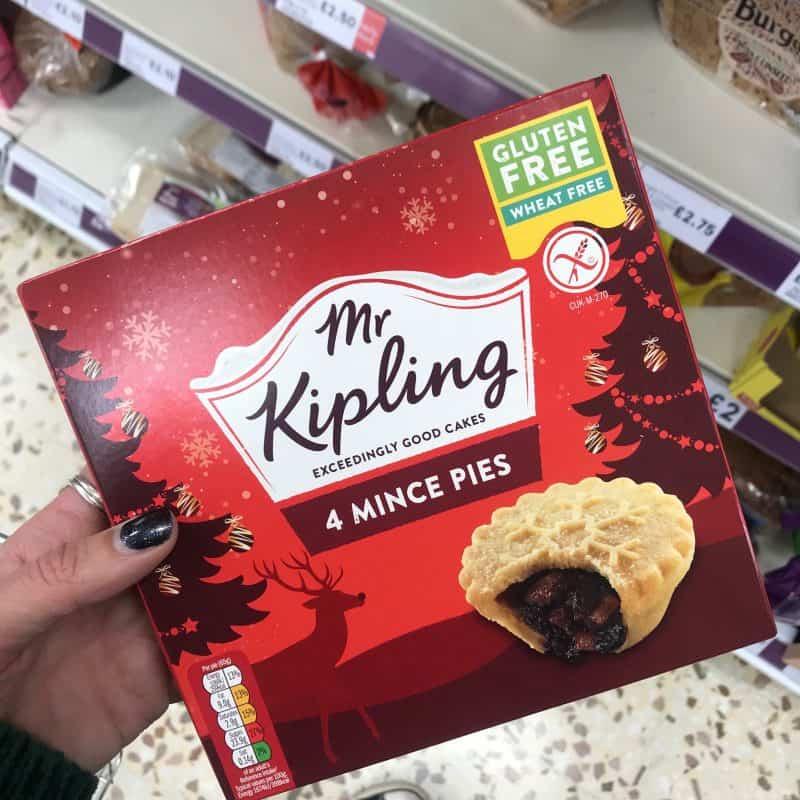 gluten free mince pies mr kipling