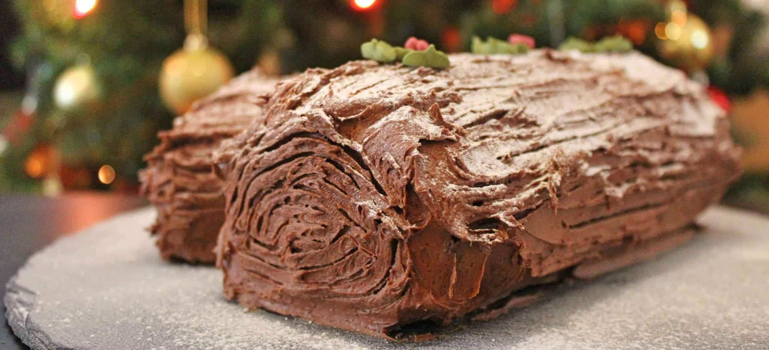 GLUTEN FREE YULE LOG RECIPE