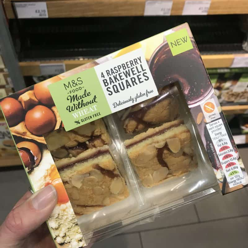 marks and spencer gluten free bakewell