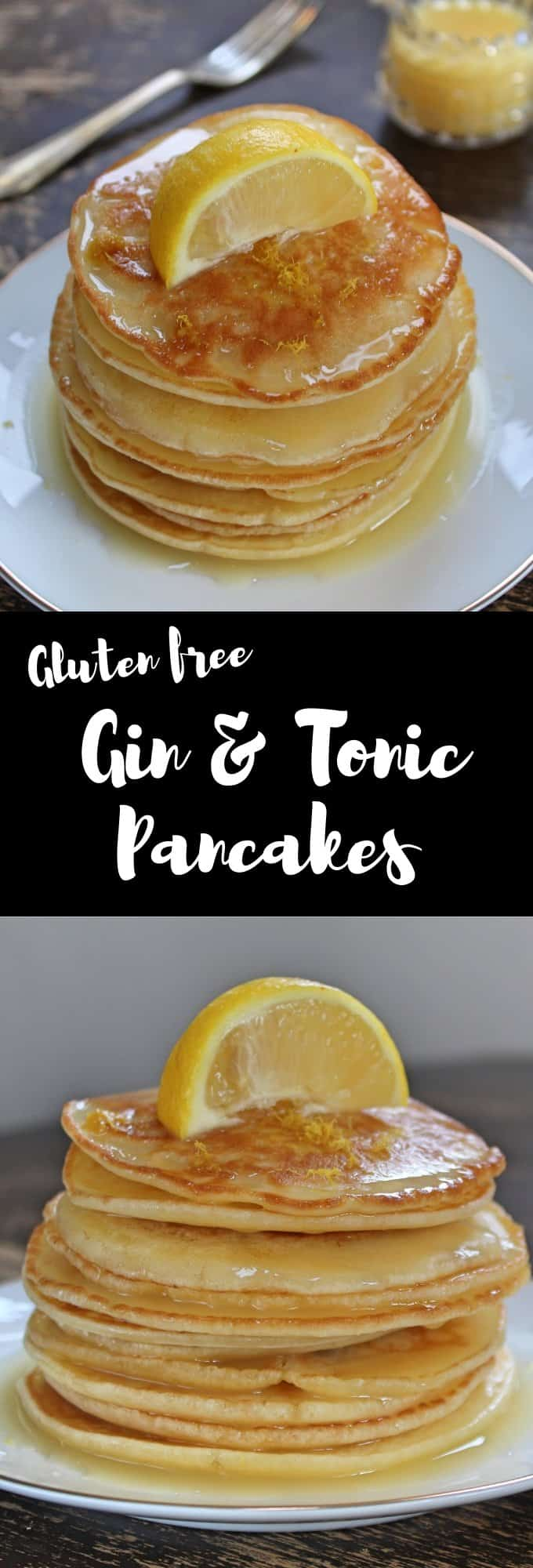 gluten free gin and tonic pancakes dairy free coeliac shrove tuesday recipe