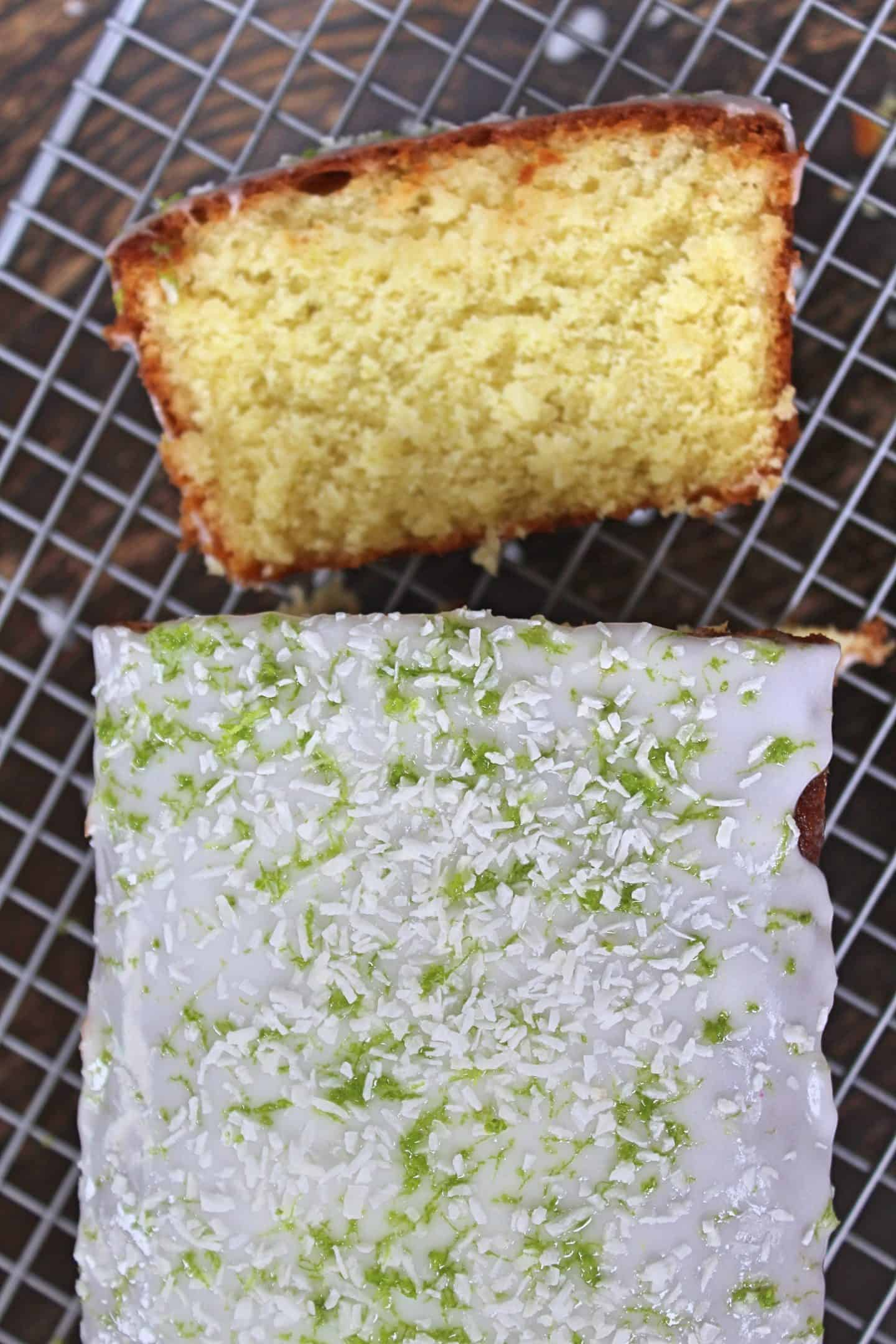 gluten free lime and coconut cake recipe