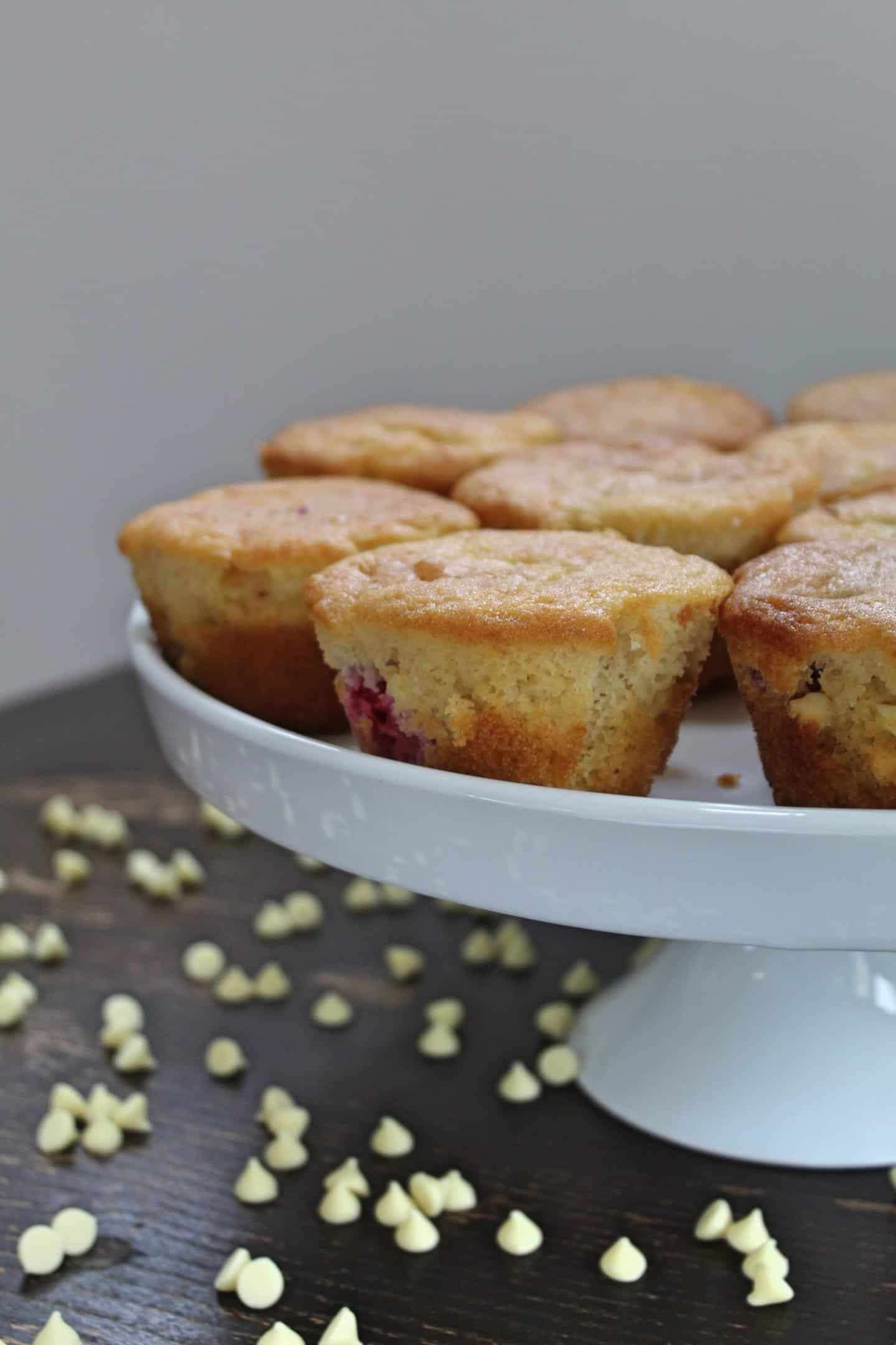 gluten free raspberry and white chocolate muffins 28 EDIT