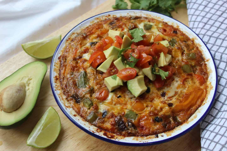 gluten free mexican frittata recipe 10