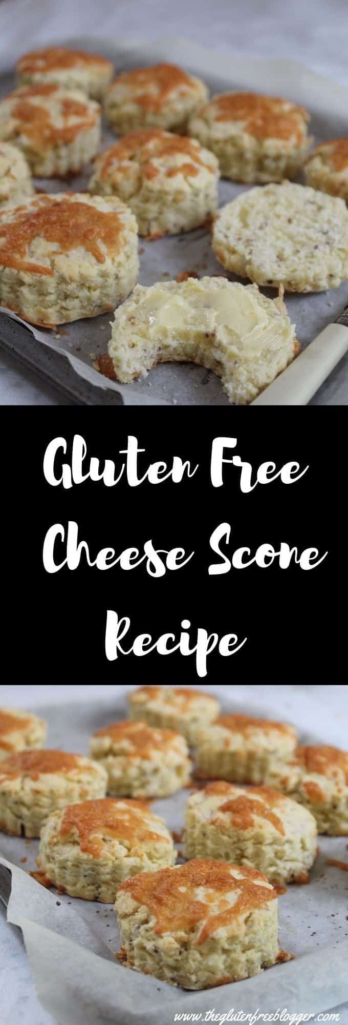 Copy of gluten free cheese scones recipe - cheese scone recipe - gluten free savoury cream tea - coeliac celiac - easy baking recipe