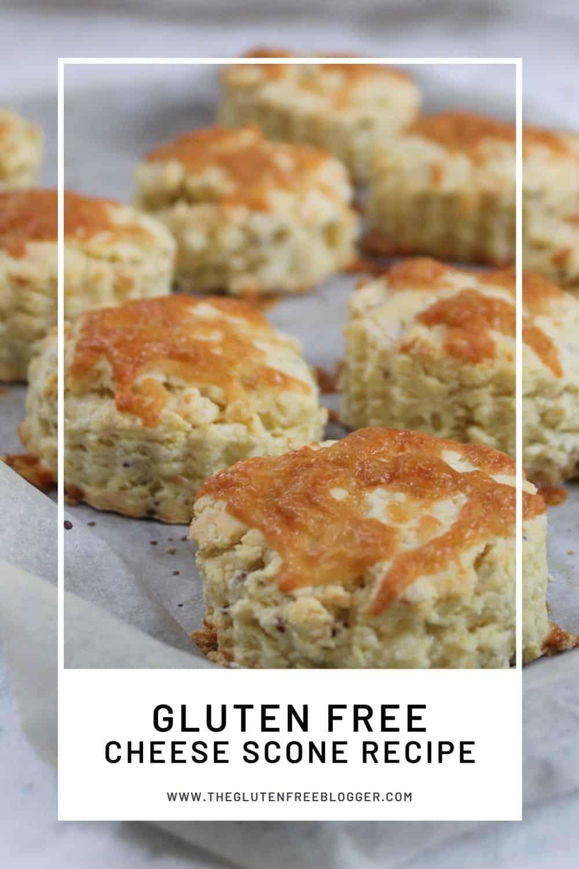 gluten free cheese scone recipe coeliac baking celiac biscuit cream tea