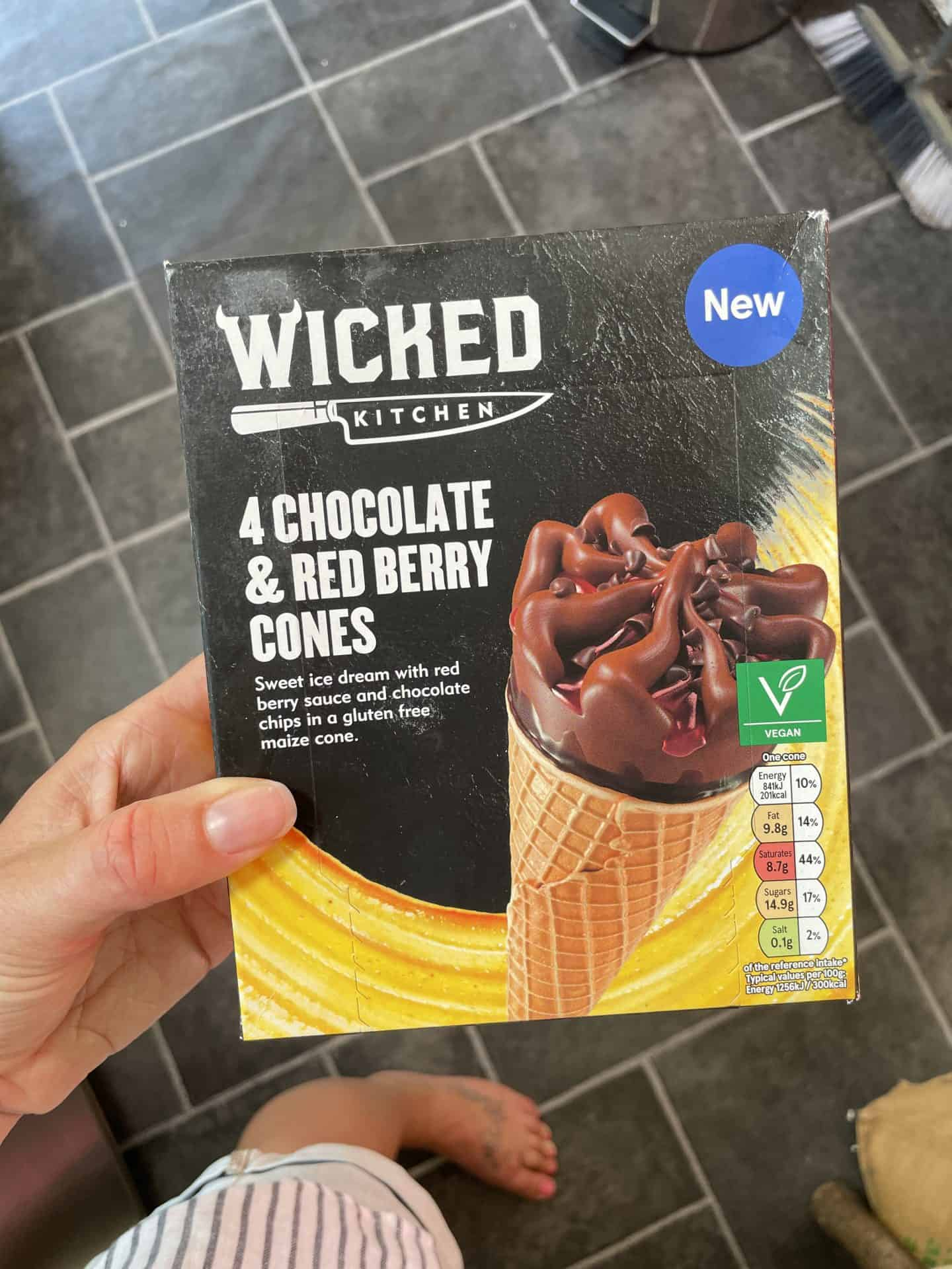 wicked kichen chocolate raspberry cones