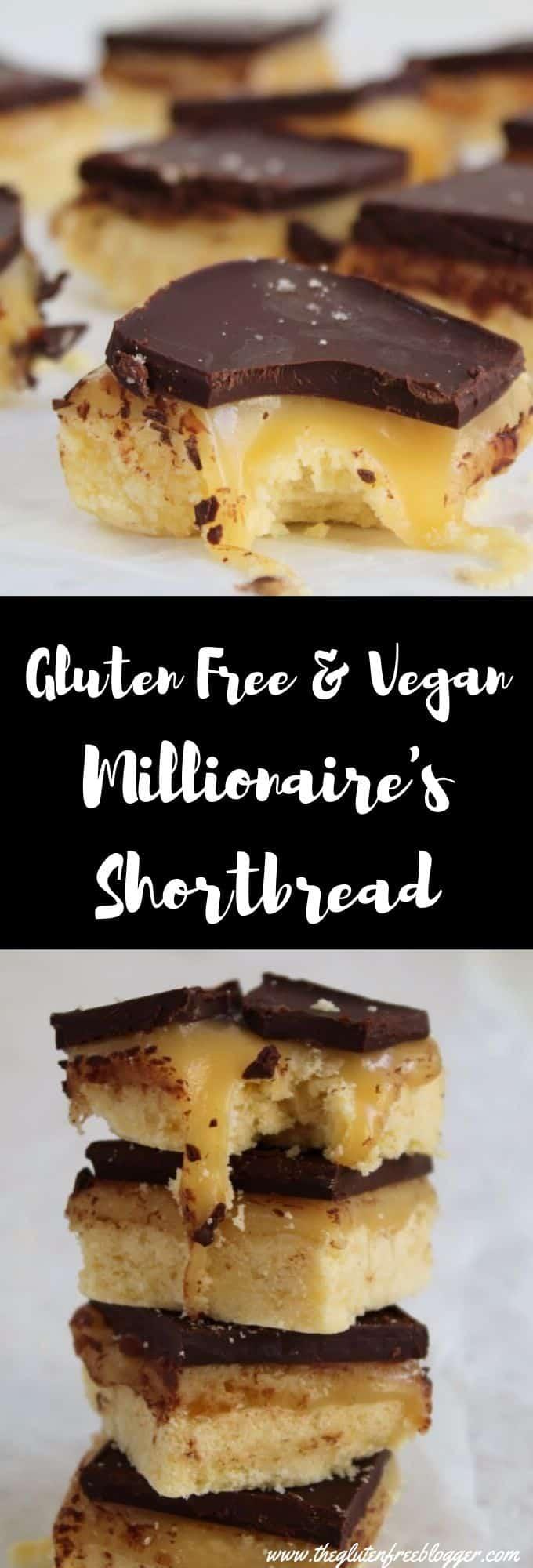 gluten free vegan millionaires shortbread recipe - gluten free dairy free caramel shortbread coeliac