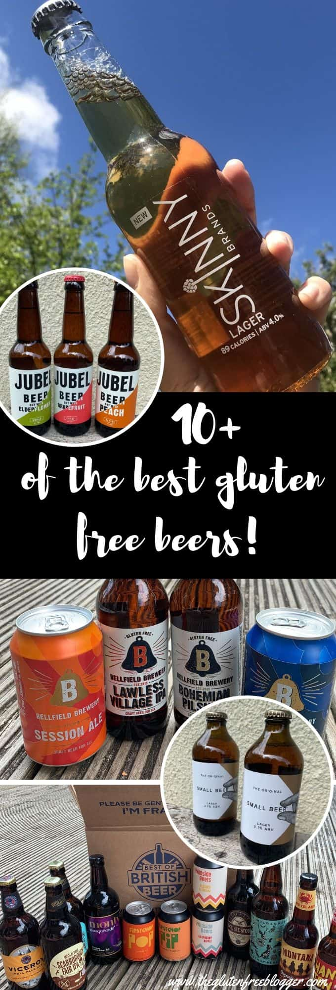 gluten free beers - best british beers - best gluten free ales lager stout IPA in the UK