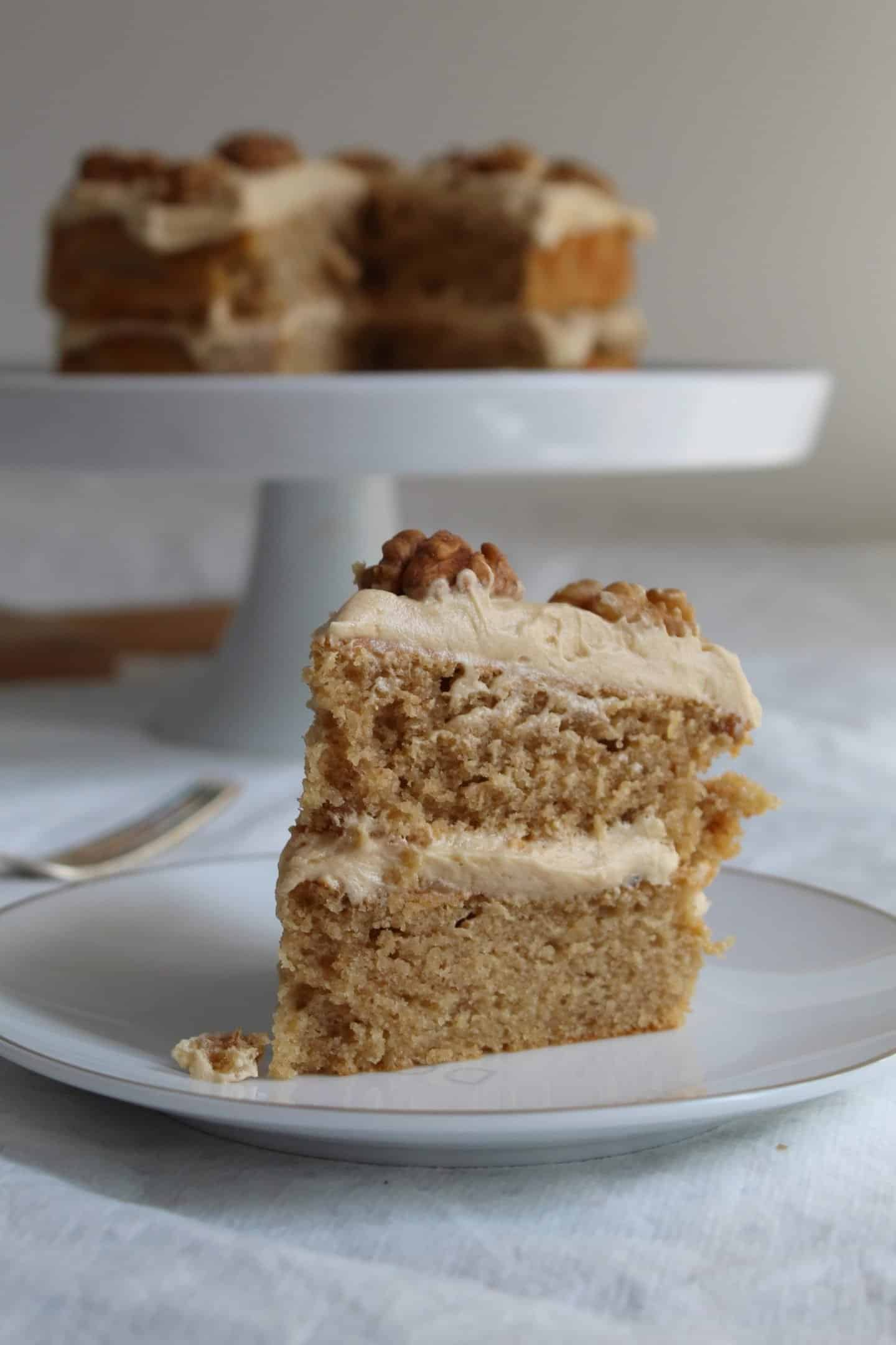 GLUTEN FREE COFFEE AND WALNUT CAKE RECIPE WITH BUTTERMILK 49