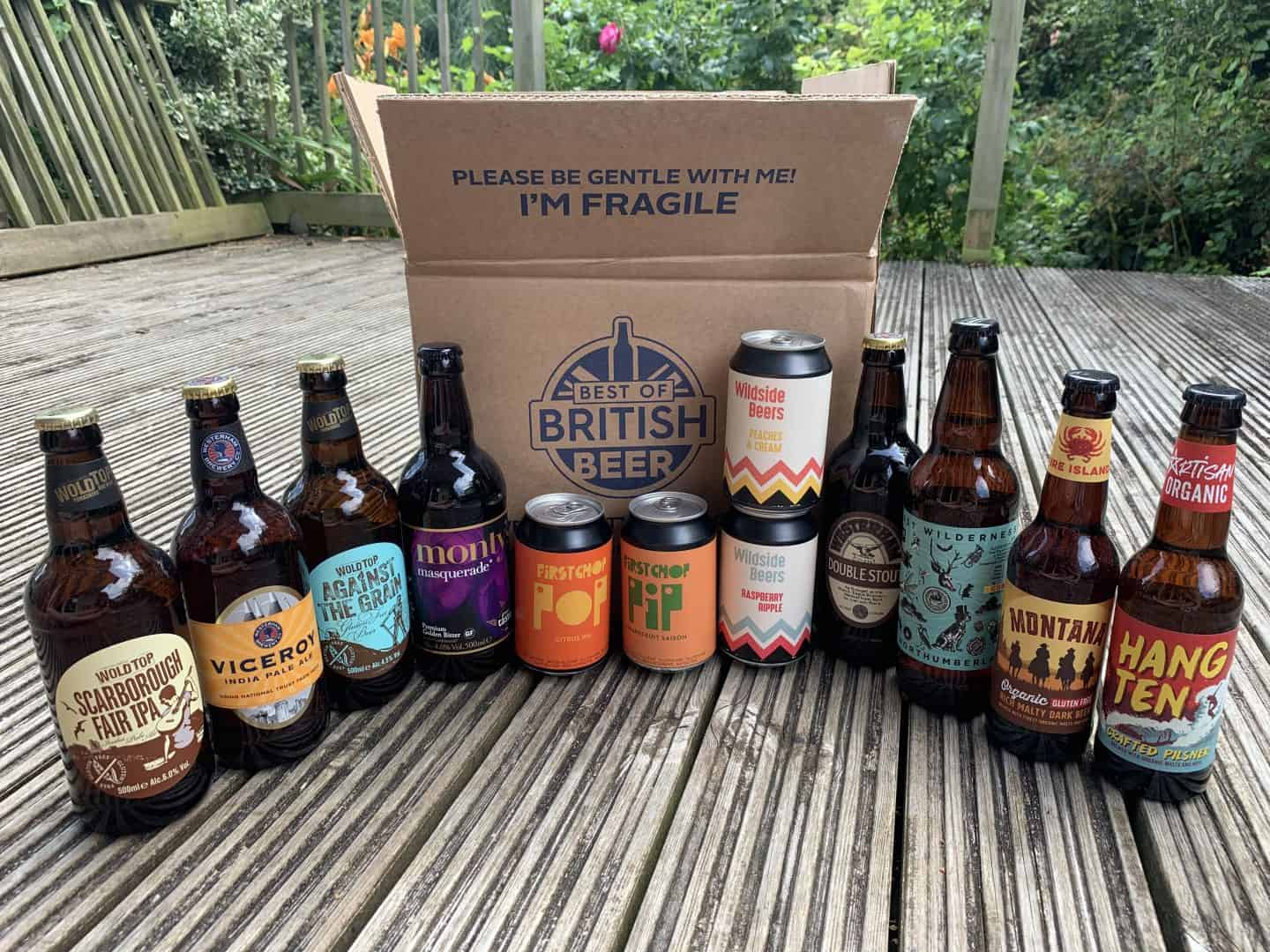 gluten free beers british beers subscription