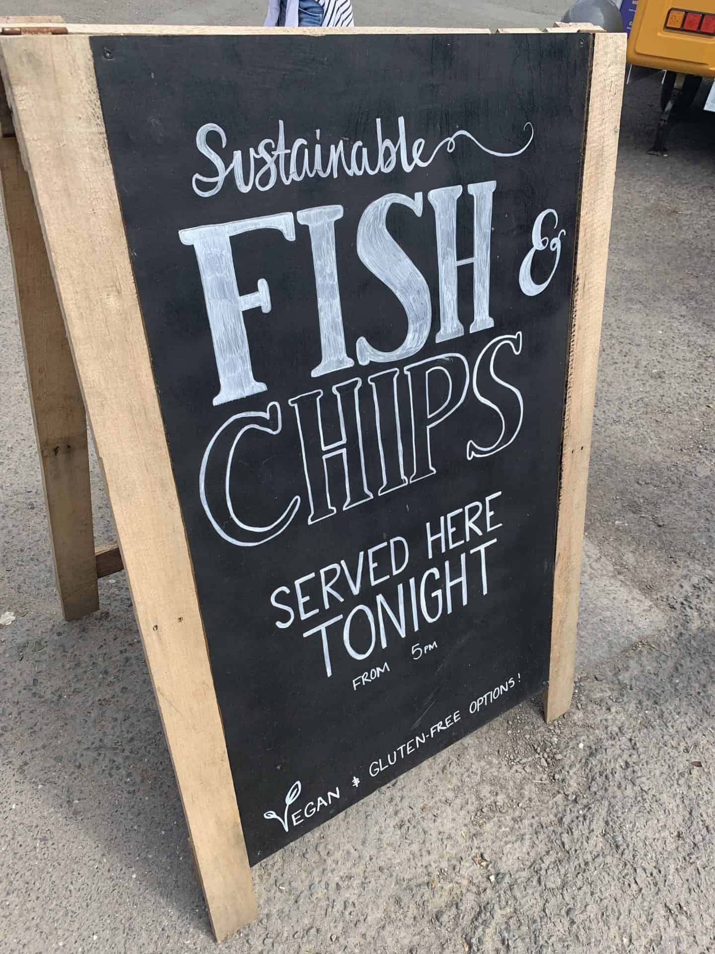gluten free croyde sustainable fish and chips