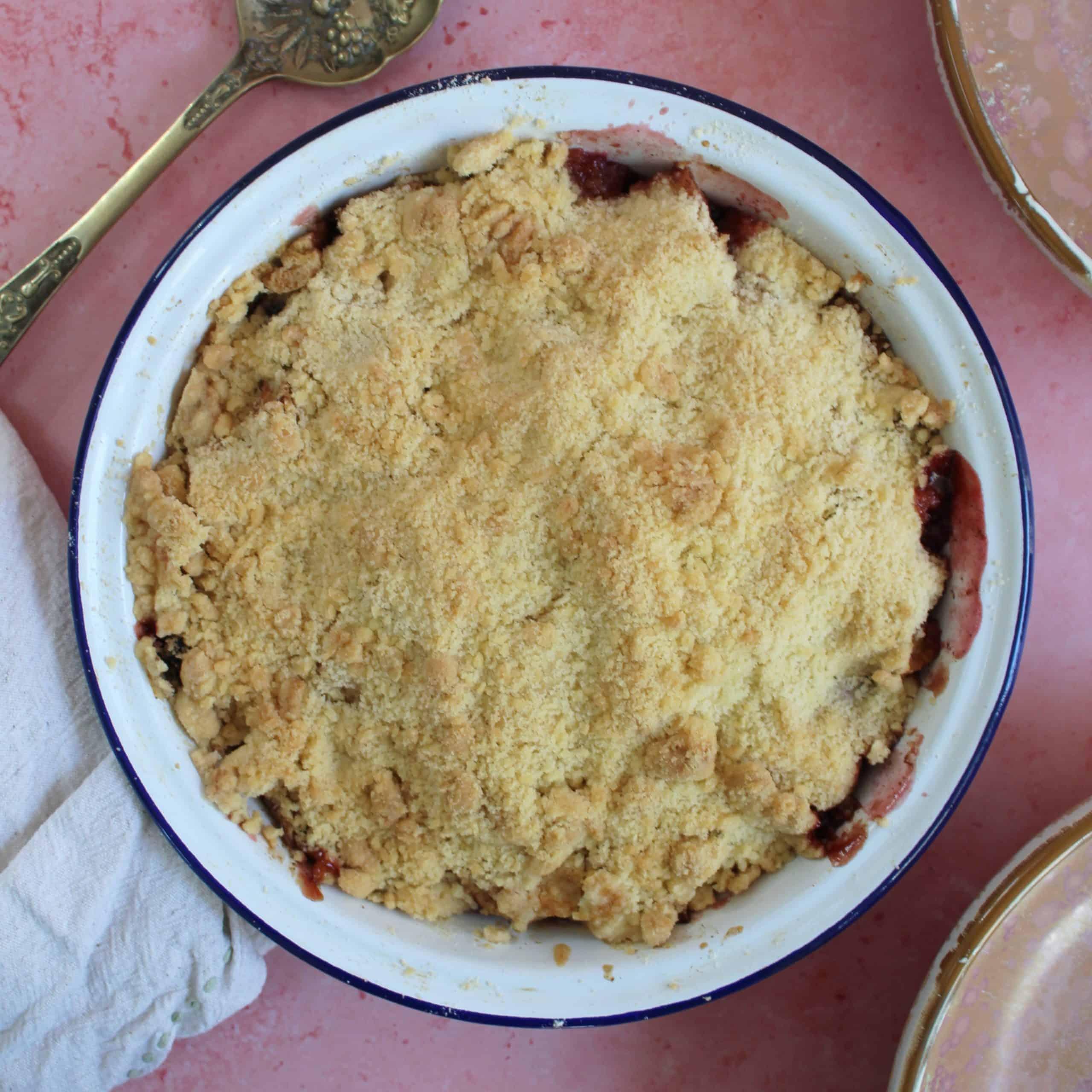 gluten free crumble recipe
