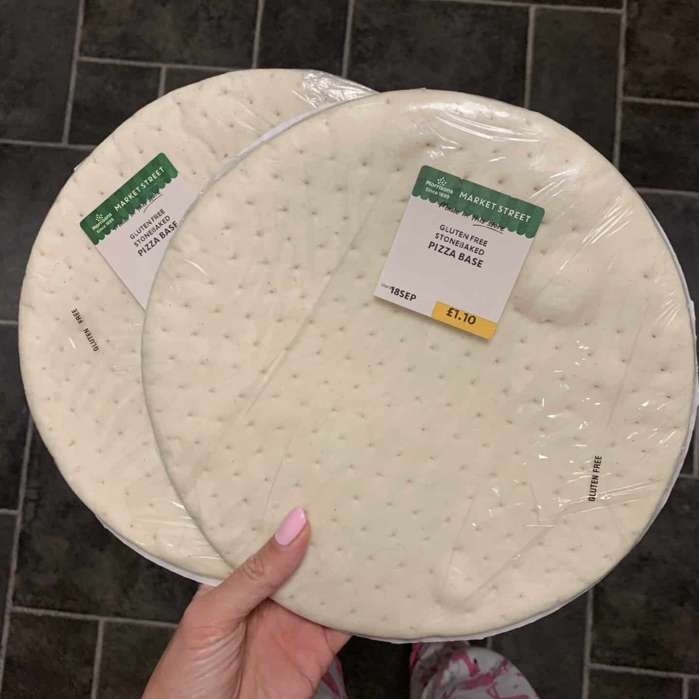 gluten free new products september morrisons pizza base