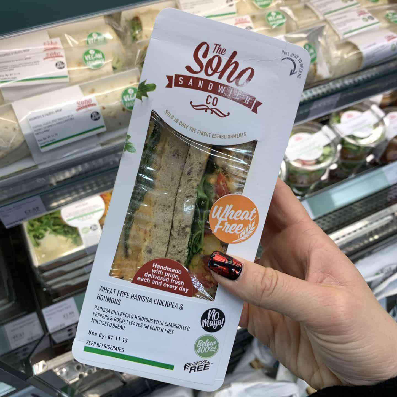 gluten free sandwich holland and barrett