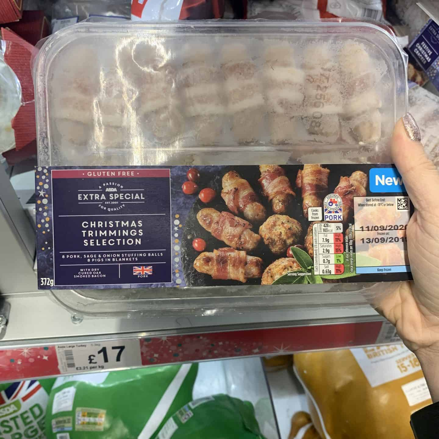 gluten free asda christmas food