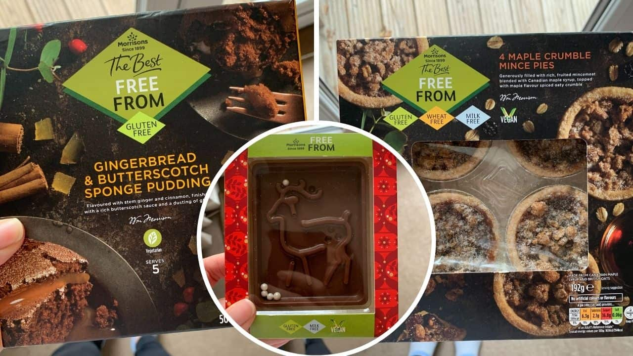 gluten free christmas food morrisons