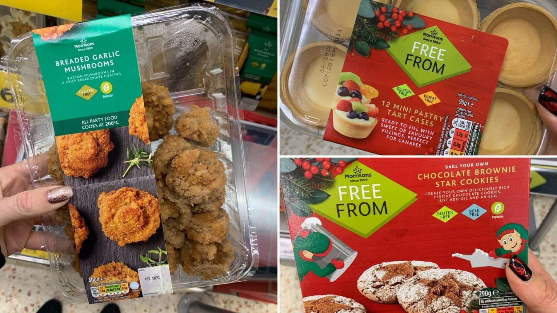 gluten free christmas food morrisons