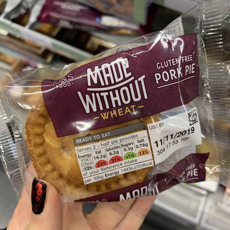 gluten free pork pie m&s