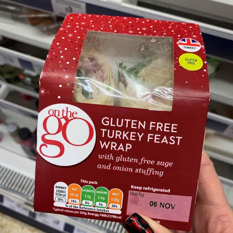 sainsburys gluten free christmas wrap