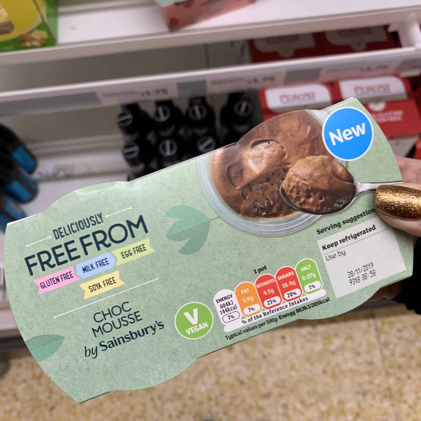 new gluten free products sainsburys november 20192
