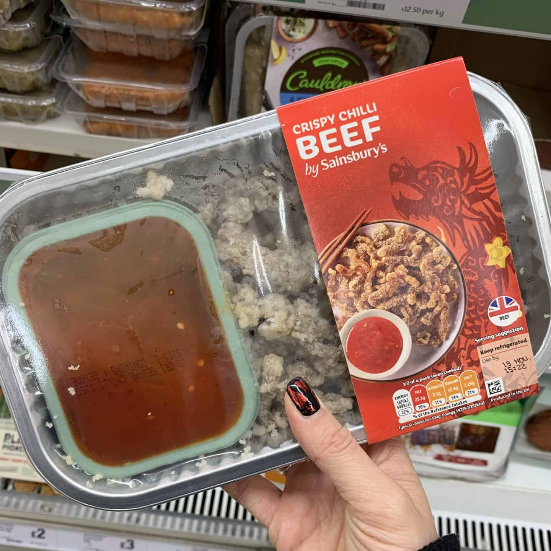 sainsburys crispy chilli beef gluten free