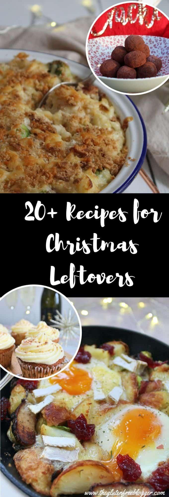 christmas leftover recipes - gluten free dairy free vegan reduce food waste