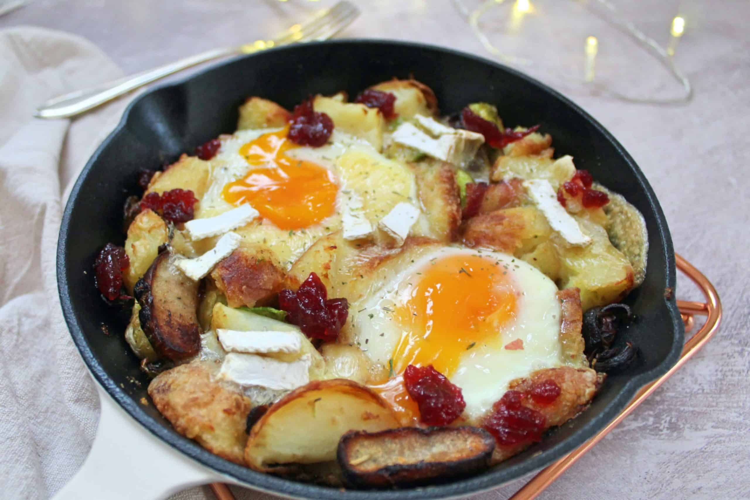 gluten free boxing day hash recipe