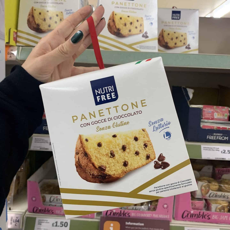 gluten free panettone sainsburys