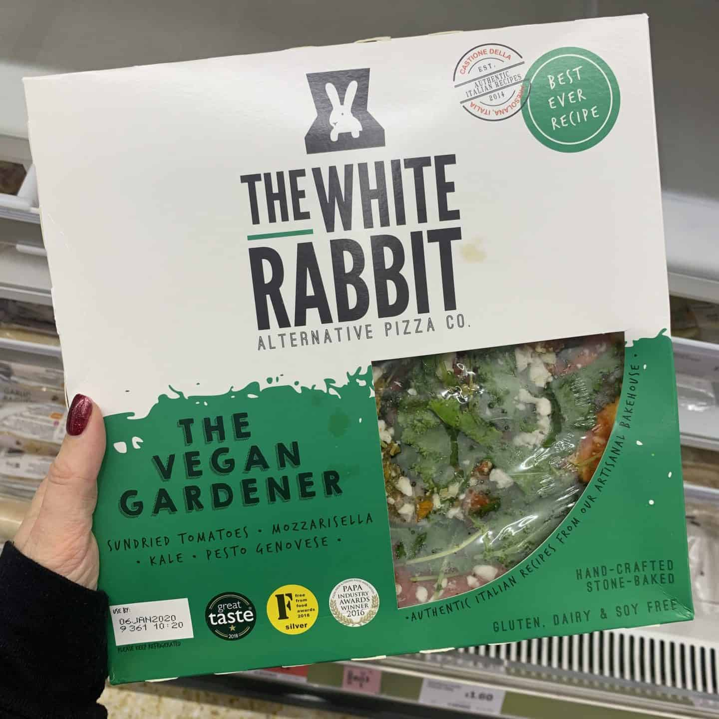 gluten free vegan white rabbit pizzas 1