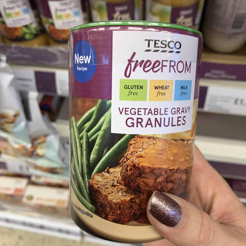 tesco gluten free gravy christmas food 1