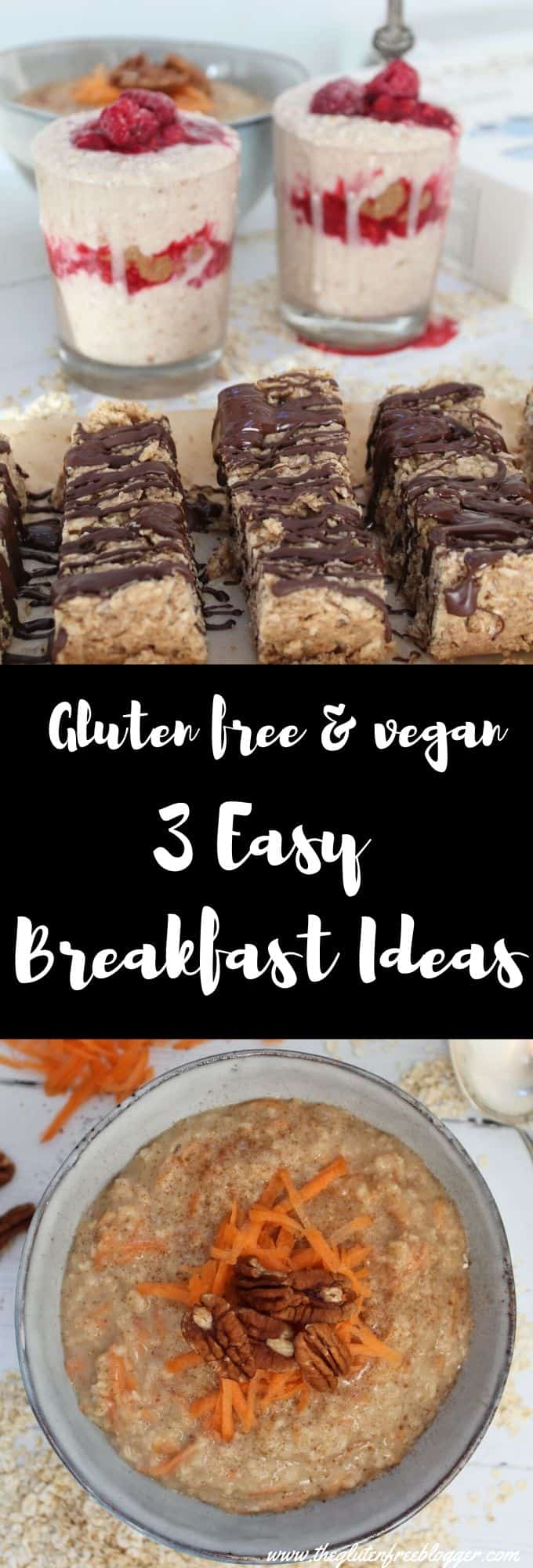 3 easy breakfast ideas recipes gluten free breakfast ideas coeliac dairy free