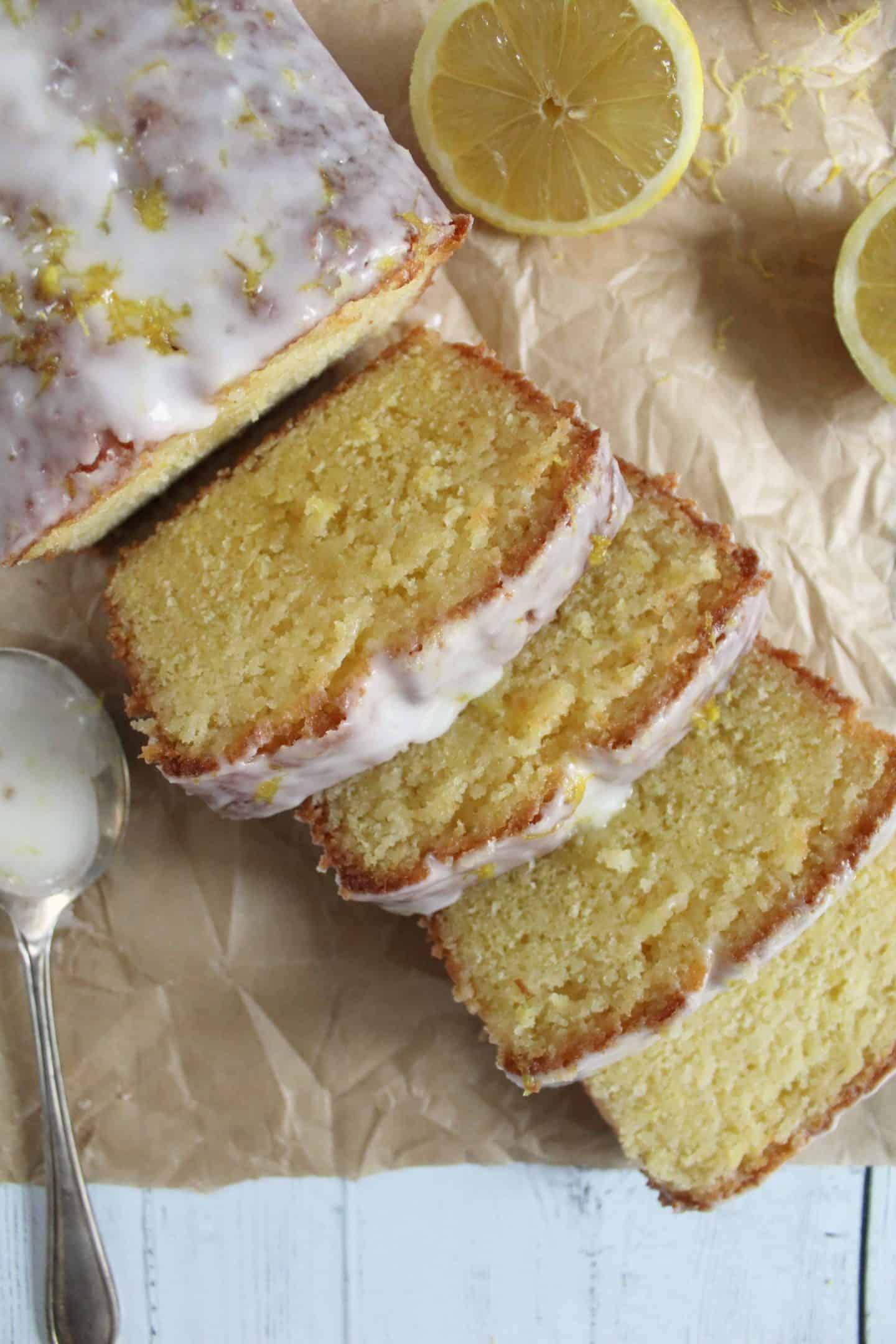 GLUTEN FREE LEMON DRIZZLE CAKE RECIPE