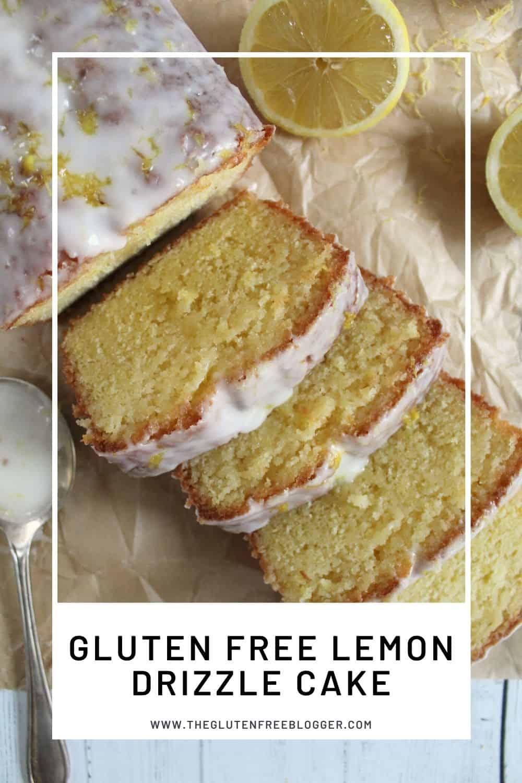 GLUTEN FREE LEMON DRIZZLE CAKE RECIPE EASY LOAF CAKE BAKING