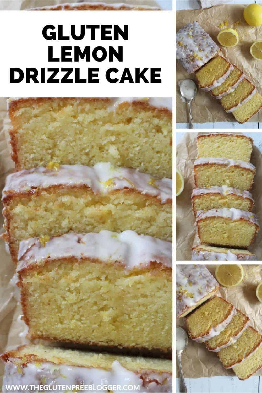 gluten free lemon drizzle cake recipe easy gluten free loaf cake baking