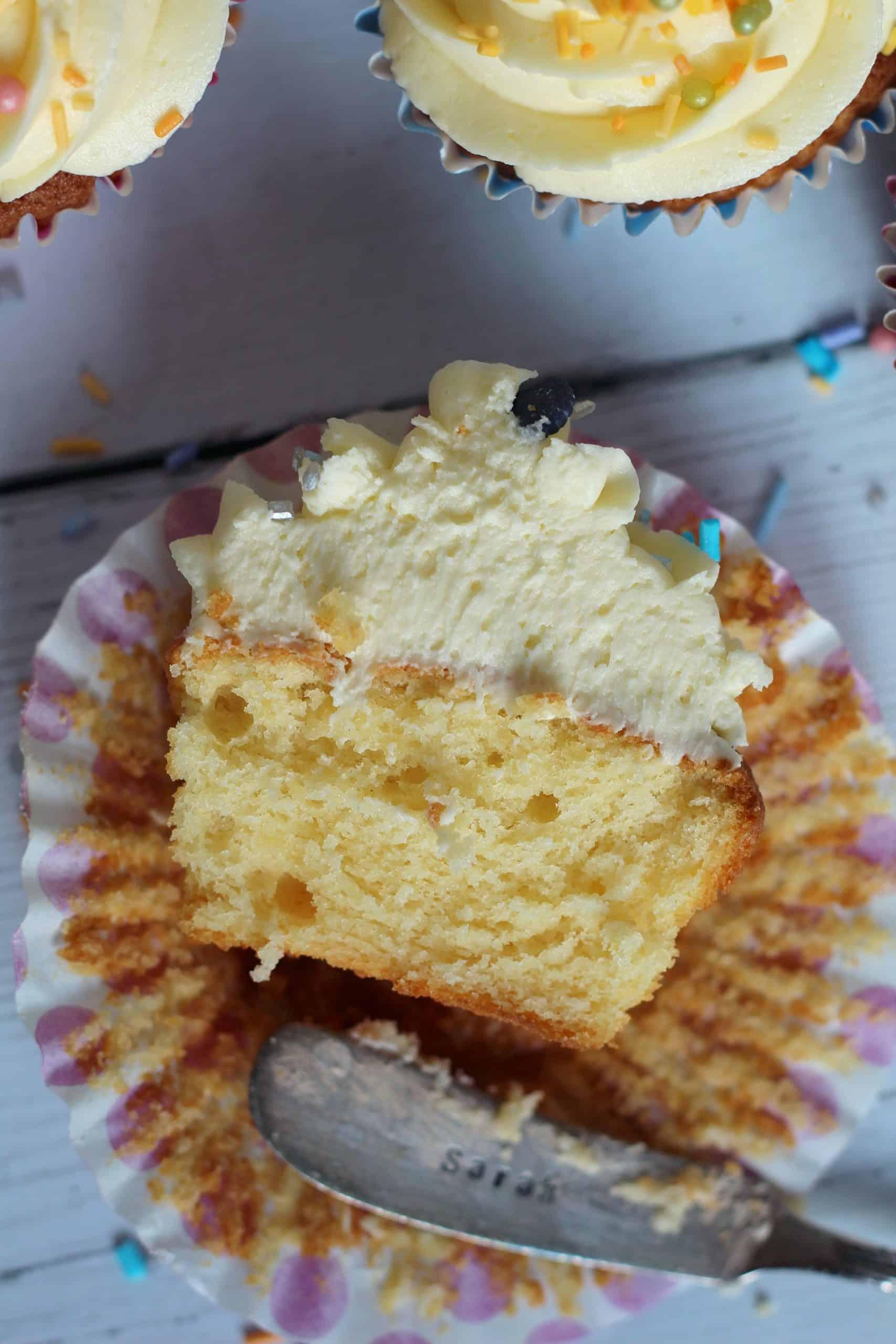 gluten free vanilla cupcakes recipe