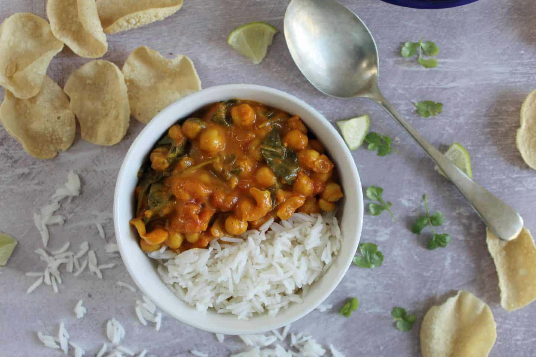 gluten free vegan chickpea curry recipe 14