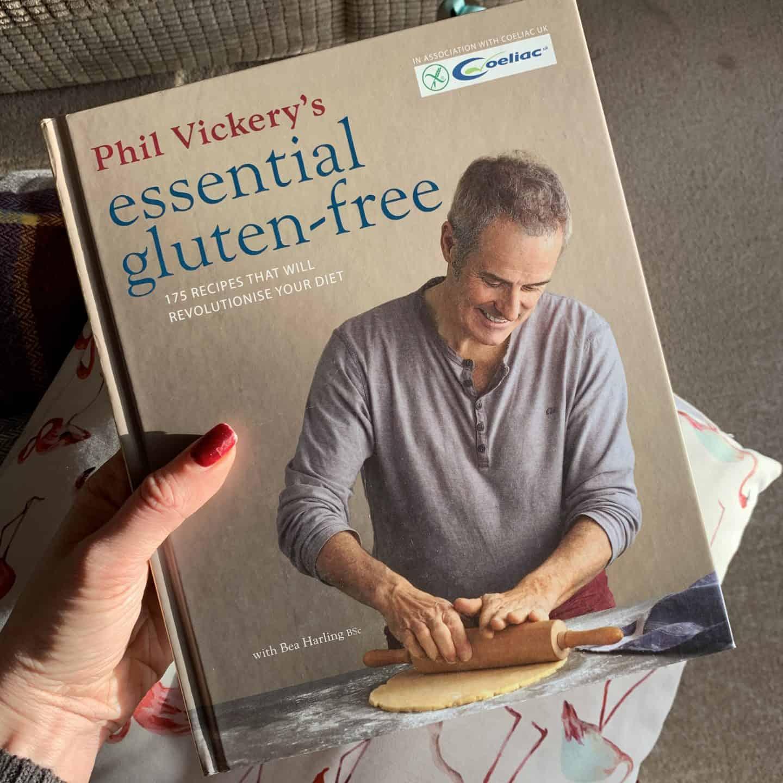 Phil Vickery's Essential Gluten Free best gluten free cookbooks