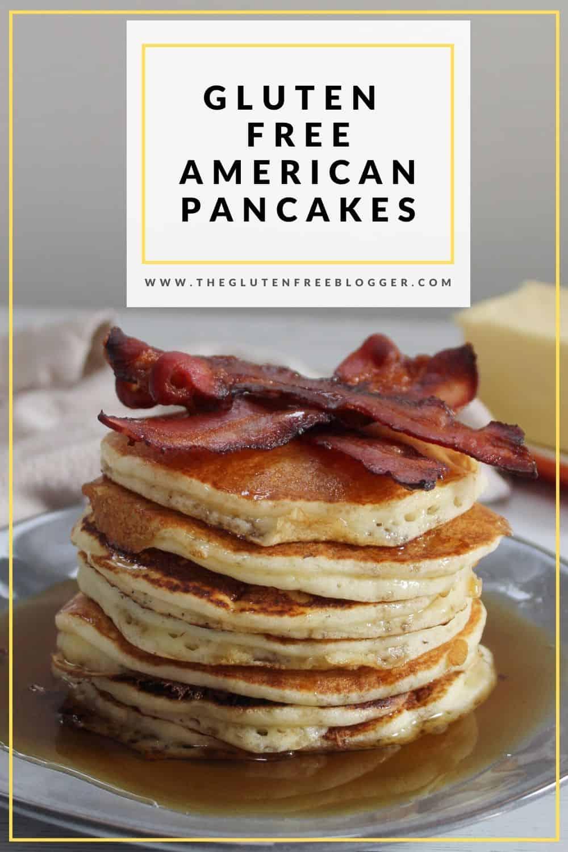 GLUTEN FREE AMERICAN PANCAKES FLUFFY BUTTERMILK PANCAKES RECIPE COELIAC