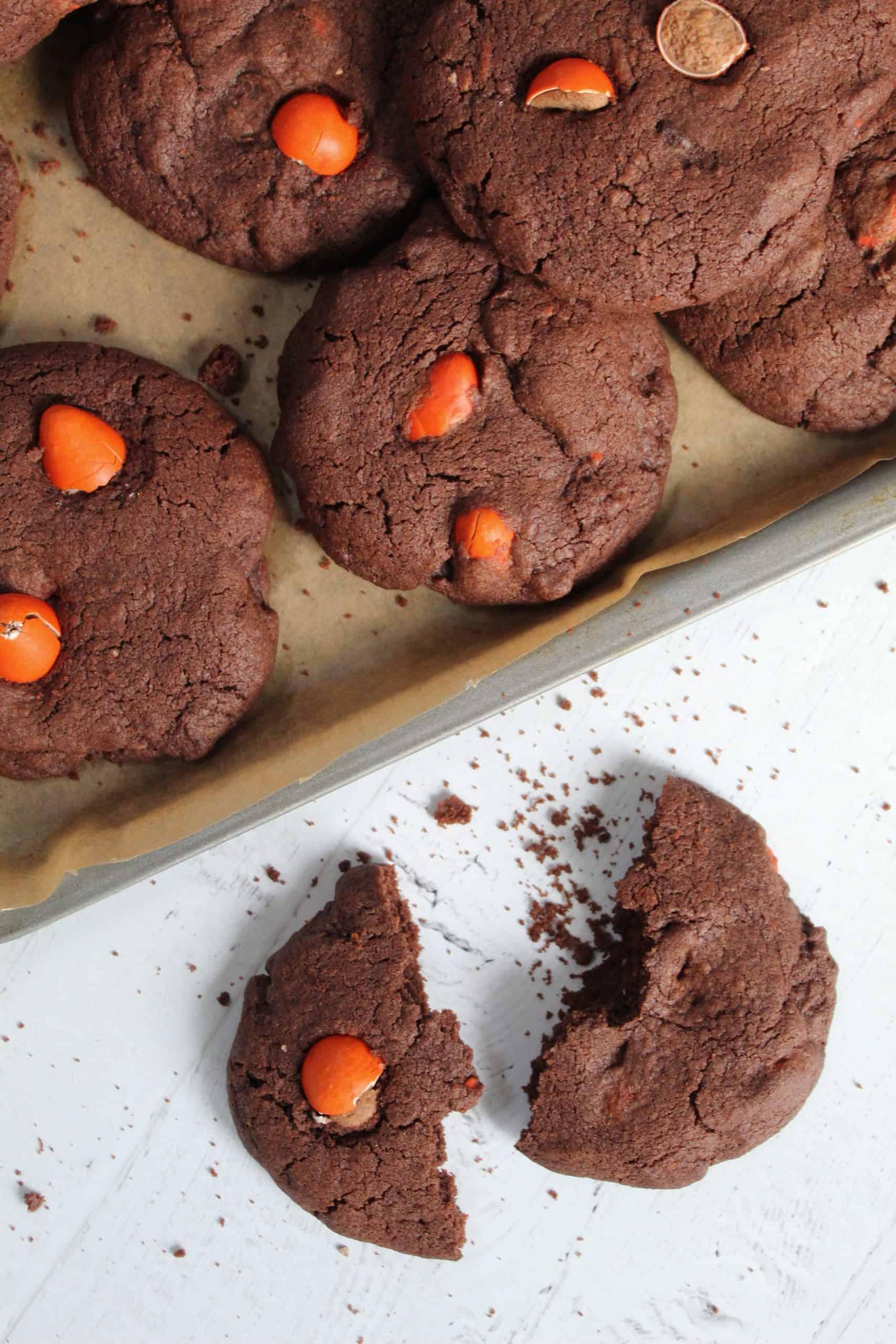 GLUTEN FREE CHOCOLATE ORANGE COOKIES 40