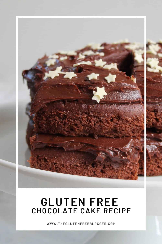 gluten free chocolate cake recipe chocolate ganache baking coeliac