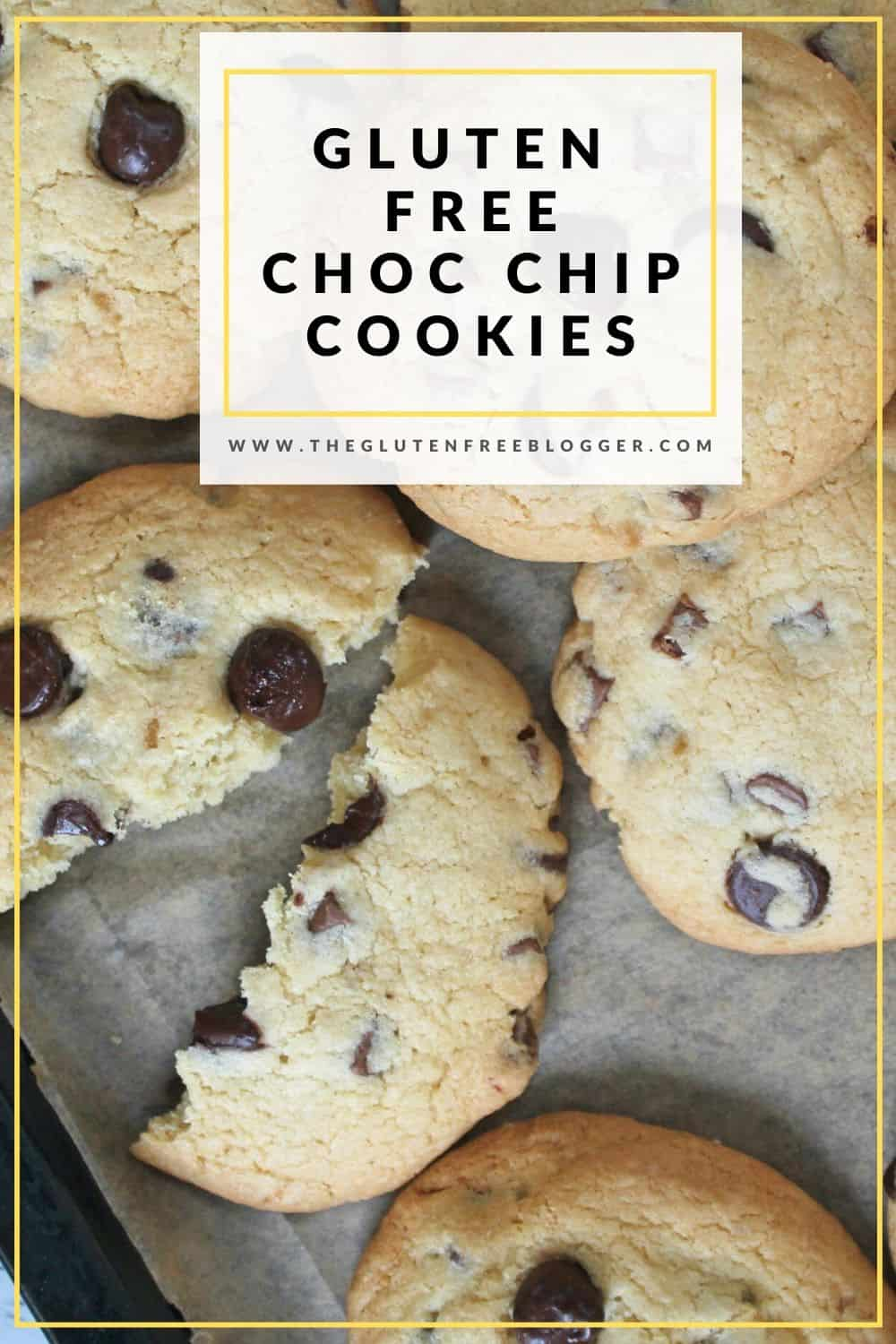 gluten free chocolate chip cookies choc chip coeliac