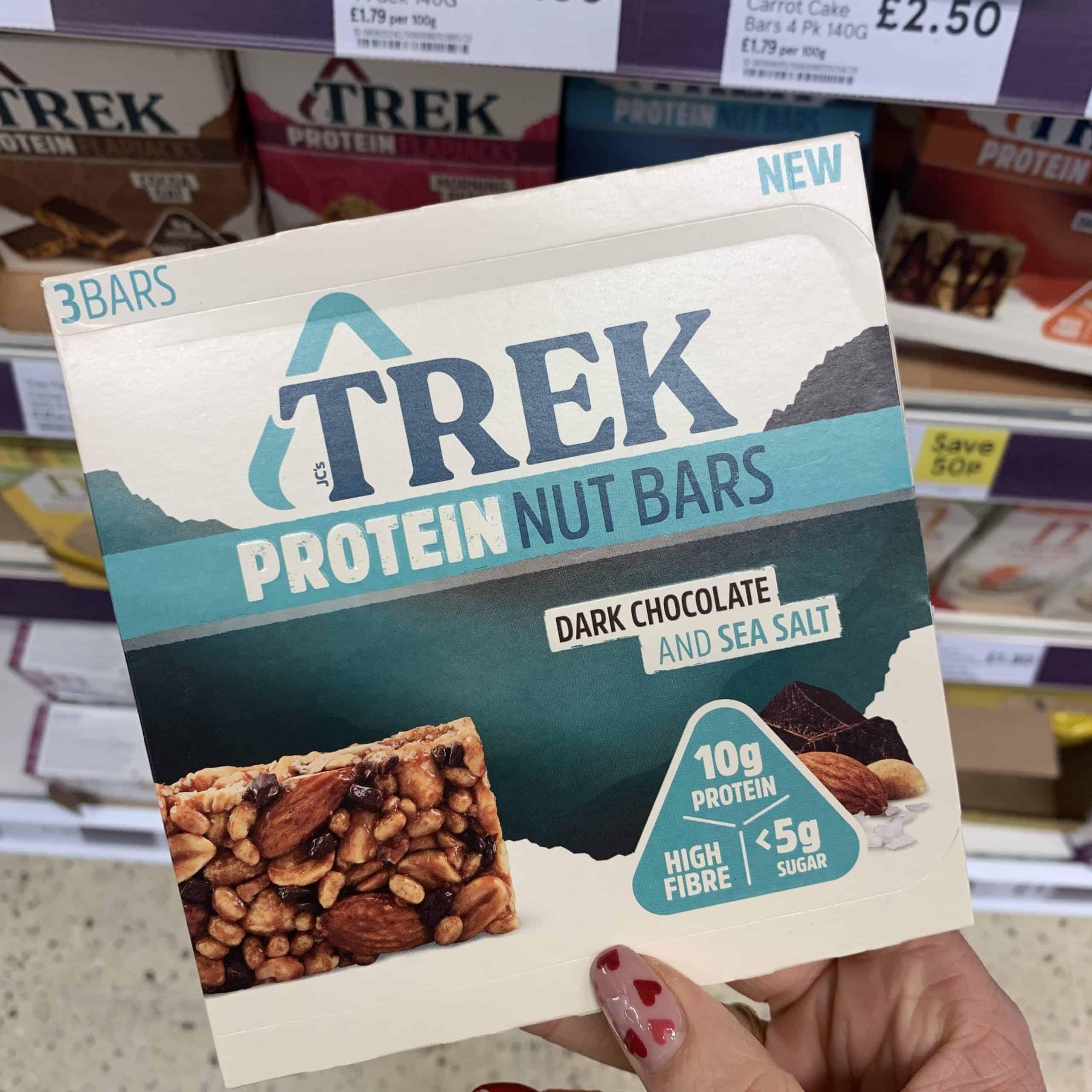 trek protein nut bars gluten free