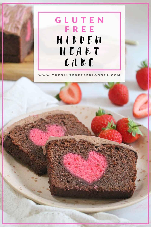gluten free hidden heart cake coeliac celiac valentines day bakes diy gifts