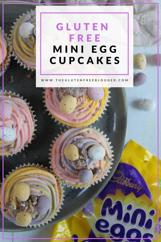 gluten free mini egg cupcakes easter bakes coeliac
