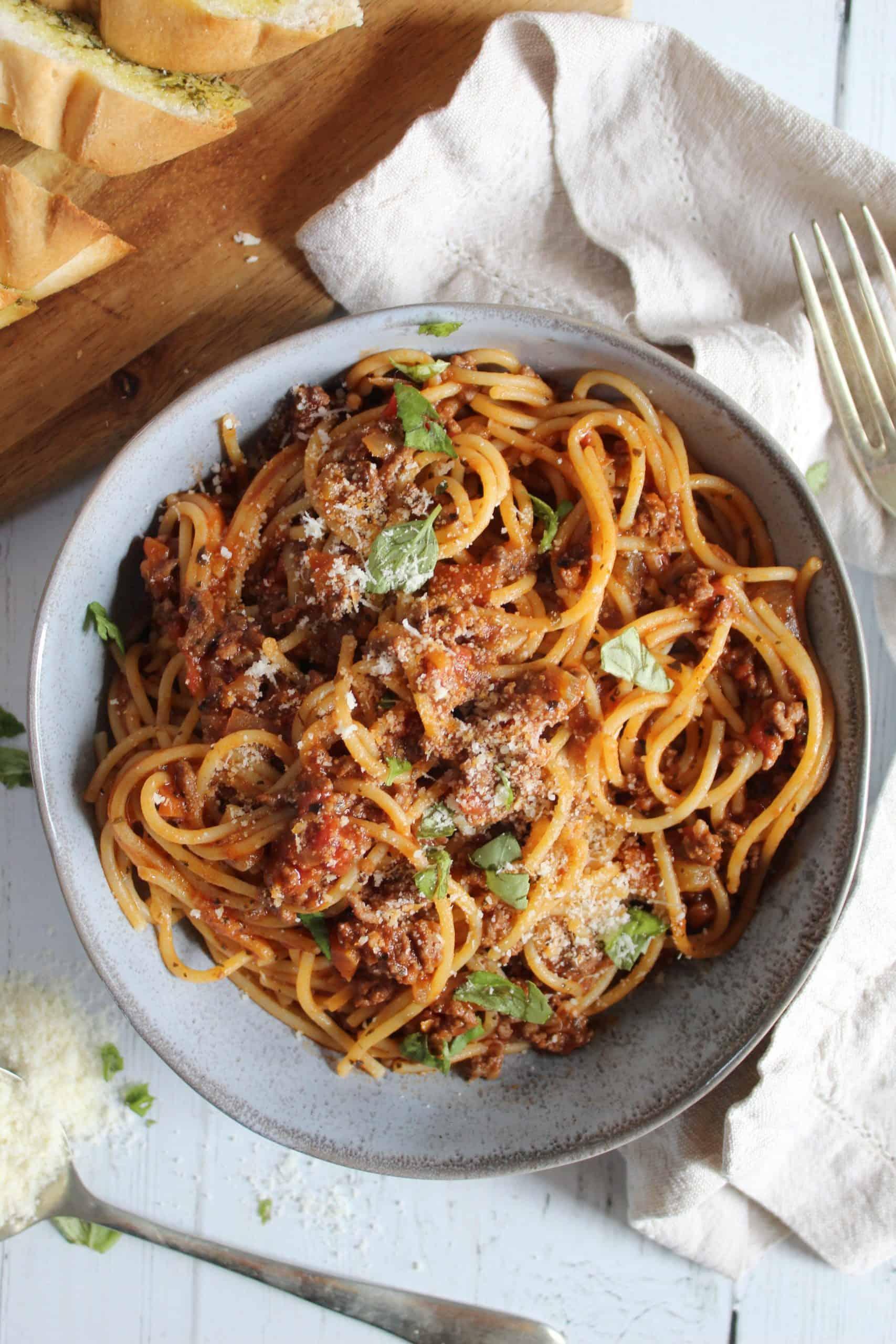 gluten free spaghetti bolognese recipe 3